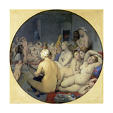 The Turkish Bath, 1863 Print by Jean-Auguste-Dominique Ingres