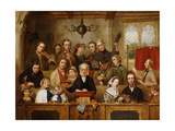The Village Choir Giclee Print by John Watkins Chapman