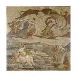 The Rape of Europa Giclée-tryk af Rosalba Carriera