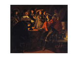 The Guardroom, 1643 Giclee Print by Louis Le Nain