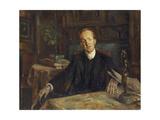 Portrait of Gerhart Hauptmann, 1900 Giclee Print by Lovis Corinth