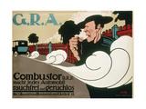 Plakatkunst - G,R,A, Von Hans Rudi Erdt, 1910 - Giclee Baskı