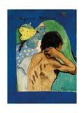 Negreries Martinique, 1890 Giclée-tryk af Paul Gauguin