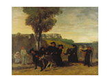 Home Coming Form the Conference (Le Retour De La Conférence), 1863 Giclee Print by Gustave Courbet
