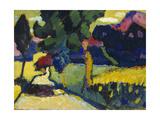Murnau, Sommerlandschaft, 1909 Giclee Print