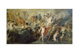 Medici-Zyklus:Die Herrschaft Der Koenigin (Oder: Der Rat Der Goetter) Giclee Print by Peter Paul Rubens