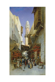 An Egyptian Bazaar Giclee Print by Hermann David Salomon Corrodi