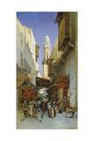 An Egyptian Bazaar Giclee Print by Hermann David Salomon Corrodi