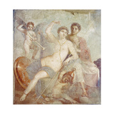 Ares and Aphrodite Giclee Print by  Pompeii