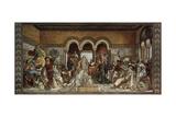 The Minstrel Contest at Wartburg Castle, 1855 Giclée-Druck von Moritz Von Schwind