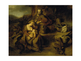 Resting on the Flight to Egypt, 1644 Giclee Print by Ferdinand Bol