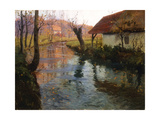 The Mill Stream Posters by Frits Thaulow