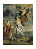 The Medici Cycle: the Triumph of Juliers, 1st September 1610, 1622-25 Giclee Print by Peter Paul Rubens