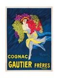 Gautier Freres Cognac Giclee Print by Leonetto Cappiello