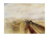 Rain, Steam, and Speed (The Great Western Railway), 1844 Prints by Joseph Mallord William Turner