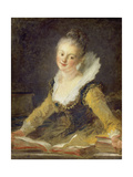Etude (Der Gesang) 1769 Reproduction procédé giclée par Jean-Honoré Fragonard
