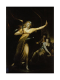 Lady Macbeth, 1784 Prints by Henry Fuseli