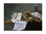 Vanitas Still-Life Art by Pietro da Cortona