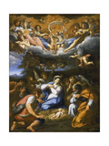 Adoration of the Shepherds Giclee Print by  Französischer Maler