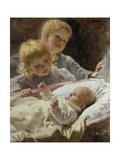 Three Brothers, 1898 Giclee Print by Wilhelm Balmer