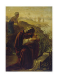 Moses and His Mother Giclee Print by Philipp Veit