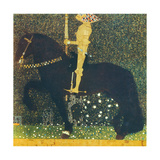 Life Is a Struggle (The Golden Knight) 1903 Giclee Print by Gustav Klimt