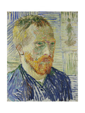 Self Portrait in Front of a Japanese Print, 1887 Giclee Print by Vincent van Gogh