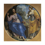 Christ and the Samaritan Woman at the Well, 1648 Giclee Print by Philippe De Champaigne