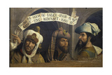 Koepfe Dreier Biblischer Propheten Giclee Print by Quinten Massys