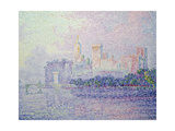 The Papal Palace in Avignon, 1900 Giclee Print by Paul Signac