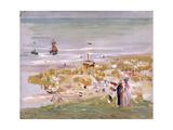 Beach, Scheveningen (Der Strand, Scheveningen), 1900 Giclee Print by Max Liebermann