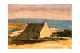 Cottage at Le Pouldu, C. 1892 Giclee Print by Wladyslaw Slewinski