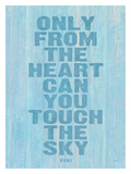Only From The Heart Giclee Print by Lisa Weedn