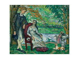The Conversation (La Conversation), 1872-73 Giclee Print by Paul Cézanne
