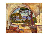 The Chapel of St, Anne, Saint Tropez, C. 1920 Posters by Theo van Rysselberghe