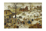 The Census at Bethlehem Giclee Print by Pieter Bruegel the Elder