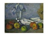Glass and Apples (Verre Et Pommes), 1879-82 Lámina giclée por Paul Cézanne