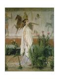 Greek Woman Giclée-tryk af Sir Lawrence Alma-Tadema