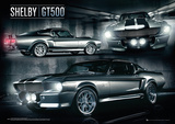 Ford Shelby - GT500 Metallic Foil Poster Poster