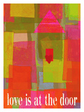 Love Is At The Door Giclee Print by Lisa Weedn