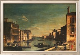 Grand Canal Venice, Looking East Kunstdruck von Francesco Fironi
