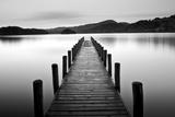 Lake Pier Fotografie-Druck