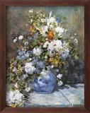 Flowers in a Vase Kunst von Pierre-Auguste Renoir