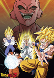 Dragon Ball Z - Buu vs Saiyans Posters