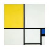 Komposition Mit Blau Und Gelb, 1931 Giclée-trykk av Piet Mondrian