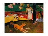 Tahitian Pastorale, 1895 Giclee Print by Paul Gauguin