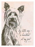 My Little Dog Wydruk giclee autor Lisa Weedn