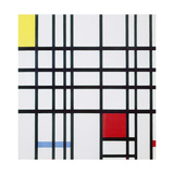 Composition with Red, Blue and Yellow Giclee Print by Piet Mondrian