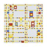 Broadway Boogie-Woogie, 1942 Reproduction procédé giclée par Piet Mondrian