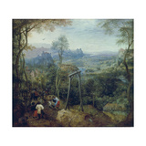 The Magpie on the Gallows, 1568 Giclee Print by Pieter Bruegel the Elder